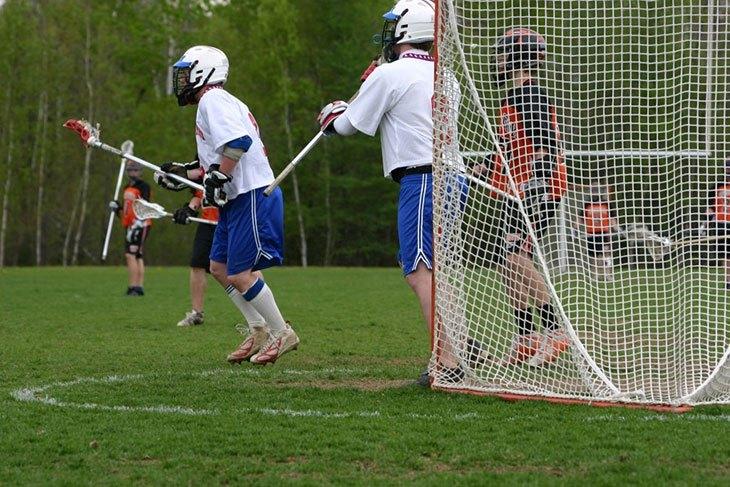 lacrosse goal backstop